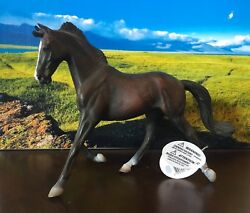 Corral Pals: CollectA by Breyer Thoroughbred Mare Black