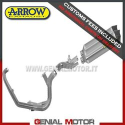 Full Exhaust Catalyzed Arrow Race Tech Titanium For Ktm 990 Sm 2008 2013