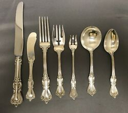 42 Piece Set In Marlborough By Reed And Barton Sterling Silver