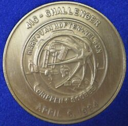4ic Challenger - First Satellite Repaired In Space Medal