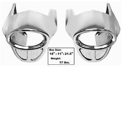 Chevy, Chevrolet Full Size Rear Bumper End Piece Pair 57, 1957