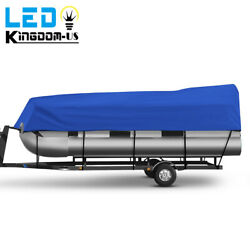 21-24 Waterproof Boat Cover Trailerable Anti-scratch Fit Pontoon Fishing Boats