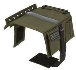 Flyboys Viper F16 Military Style Ifr Vfr Pilot Kneeboard With Clipboard - Green