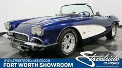 1961 Corvette Restomod AWESOME CUSTOM 'VETTE! CHEVY CRATE 350370HP V8 AUTO AIR BOTH TOPS BEAUTIFUL
