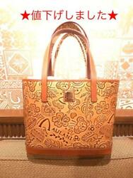 Hawaii limited DOONEY & BOURKE Duffy leather tote bag (36809