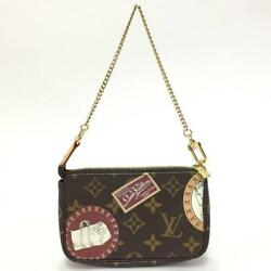 LV Vuitton mini pouch bag small input Cosmetics Travel patchwork (38275
