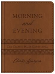 Morning and Evening : The Classic Daily Devotional Hardcover by Spurgeon C.... $20.49