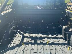 Cargo Net Bed Tie Down Hooks For Ford F-series Pickup Full Size Short Bed 66x74
