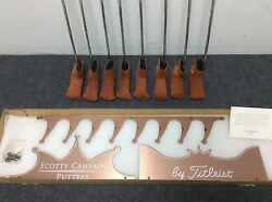 Scotty Cameron Titleist 1996 Copper Special Issue 1500 Rare Limited Edition Set