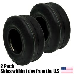 2pk 11x4x5 11x4.00-5 Smooth Tread 4ply For Toro For Scag Bobcat Wright Tires