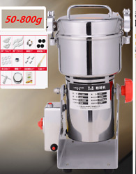 Hot 800g Stainless Steel High-speed Grinder Multifunction Swing Mill Universal