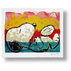 Bora Bora Boogie Down By Tom Everhart - Limited Edition Lithograph On Paper