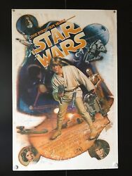 Star Wars the First 10 Years Original Movie Poster Auto - 27