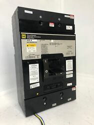 Square D Mhl3680036dc2351 800a Circuit Breaker W Shunt And Aux 500/600 Vdc 800 Amp