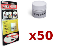 50x Highly Conductive Wire Glue/paint For Ac/dc Trade Pack - No Soldering Iron
