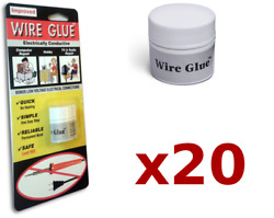 20x Highly Conductive Wire Glue/paint For Ac/dc Trade Pack - No Soldering Iron