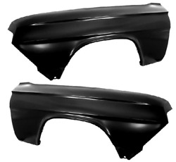 Chevy Chevrolet Impala Front Fender Set Left And Right 62 1962