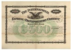 Intandrsquol Express And Transportation Co.
