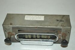 1930and039s Old Motorola Ford Nos Fomoco Classic Retro Vintage 1940and039s Car Radio Head