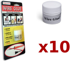 10x Highly Conductive Wire Glue/paint For Ac/dc Trade Pack - No Soldering Iron