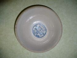 Red Wing Advertising Bowl Harry W. Lund Chain Red And White Store Canby Minn Mn