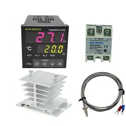 Inkbird AC 100-220V ITC-100VH Outlet Digital PID Thermostat Temperature Controll