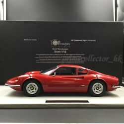 Top Marques 112 Dino 246 GTS Red TM12-02A