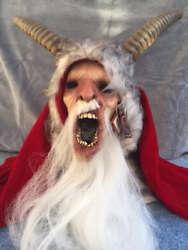 Halloween Christmas Michael Dougherty's Krampus Mask TOT's Officially Licensed