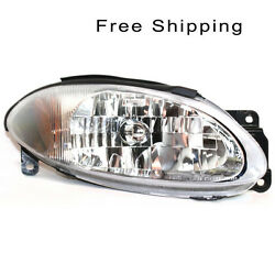 Halogen Head Lamp Assembly Passenger Side Fits Ford Escort Coupe Model FO2503172