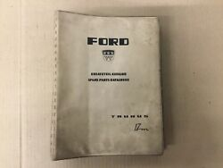 Ford Taunus 17m Factory Parts Book Manual Edition 2