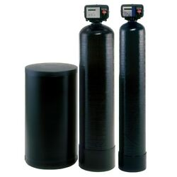 Whole House Well Water Filtration System Hardness Iron Sulphur Remove Clean Agua