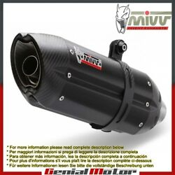 Mivv Approved Exhaust Mufflers Suono Black Underseat For Ducati 998 1994 2001