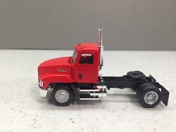Ho 187 Promotex 450010 Mack 603 Single Axle Day Cab Tractor - Red
