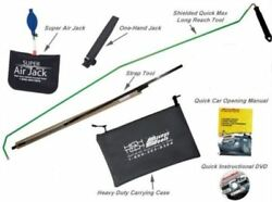 Amazing Easy Car Door Opening Kit Lockout Access Tools 1-hand Jack Reach Set New