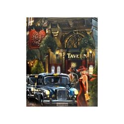 Oxford 5 By Victor Ostrovsky - Limited Edition Print On Canvas