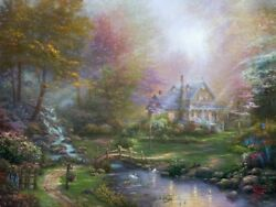 A Motherand039s Perfect Day A Motherand039s Love By Thomas Kinkade Studios