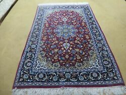 4and039 X 6and039 Vintage Hand Made Fine Oriental Wool Silk Rug Carpet Hand Knotted Wow