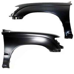 Capa For 95-00 Tacoma Rwd Except Pre-runner Front Fender Left And Right Set Pair