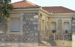 Stone made house in Volos  Greece