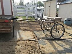 Antique Horse Drawn Sulky/buggy/wagon/carriage-decorative Only