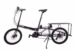 Cargo Bicycle E-Assist,Carry 2 Children,Hauladay Bike Friday.Made in USA