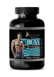 Amino Acid Supplement - Bcaa 3000mg - Pre Workout For Women - 1 Bottle