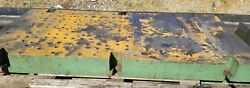 6 Thick Steel Plate 83.5 Long X 41.75 Wide Drilled And Tapped Welding Table