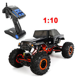 Electric RC Rock Crawler Cars 1:10 HSP 4WD 2CH Monster Truck Climbing Off Road