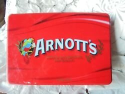Vintage Arnott's Biscuit Tin ARNOTT'S There Is No Substitute For Quality Rare