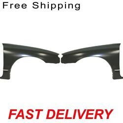 Front Fender Set Of 2 Passenger And Driver Side Fits Ford Escort ZX2 Model Coupe