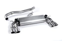 Racingline Cat Back Exhaust System Valved - Fits Golf 7 R