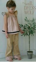 VHTF Girls WDW Well Dressed Wolf Wanderer Tunic and pants Size 8 years EUC