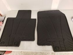 Genuine OEM Front All Weather Floor Mats Fit 2011 2012 2013 2014 Hyundai Sonata