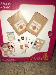 Our Generation A Day At The Fair 21 Piece Playset 18 Inch Dolls American Girl